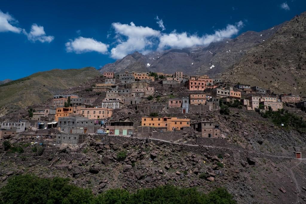 Maroko - výstup na Toubkal