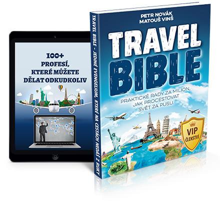 KOUPIT tištěnou Travel Bibli a členství