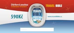 KOUPIT poukaz na tištěnou Travel Bibli a členství