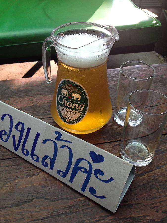 Thajsko –Točené pivo je tu vzácné