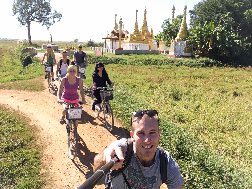 Barmou na kole