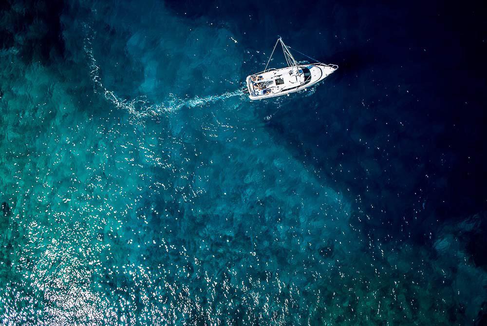 Chorvatsko z drona