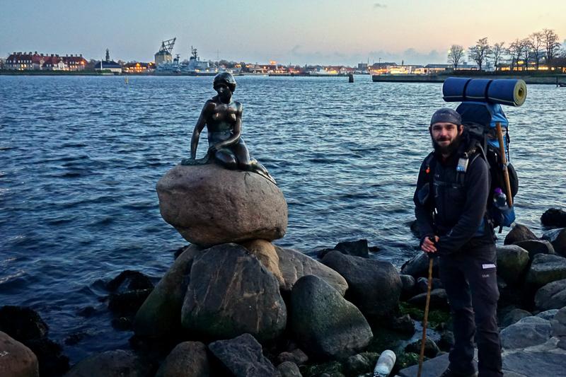U malé mořské víly v Kodani