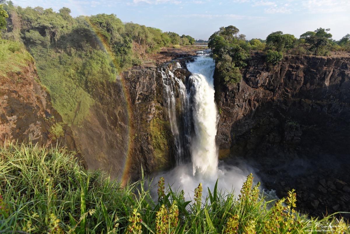 Devils stream, Viktoriiny vodopády, Zimbabwe