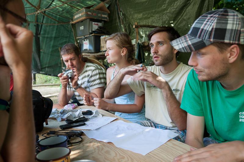 Dobrovolníci, foto: Jakub Raus