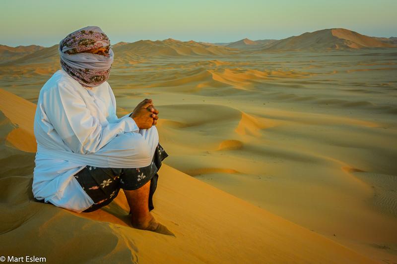 Beduínský průvodce po Rub Al Chali