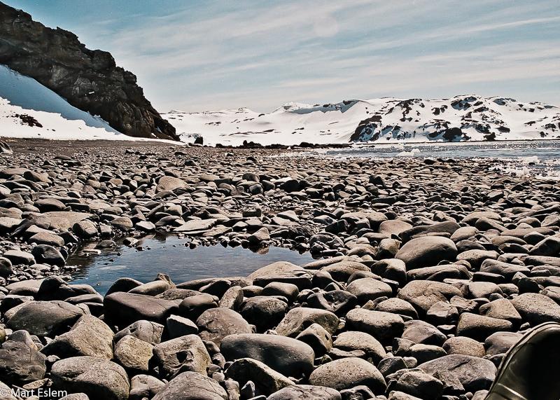 Ostrov Nelson u Antarktidy