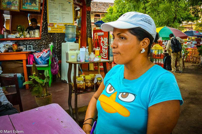 Setkání s Marií –Granada, Nicaragua