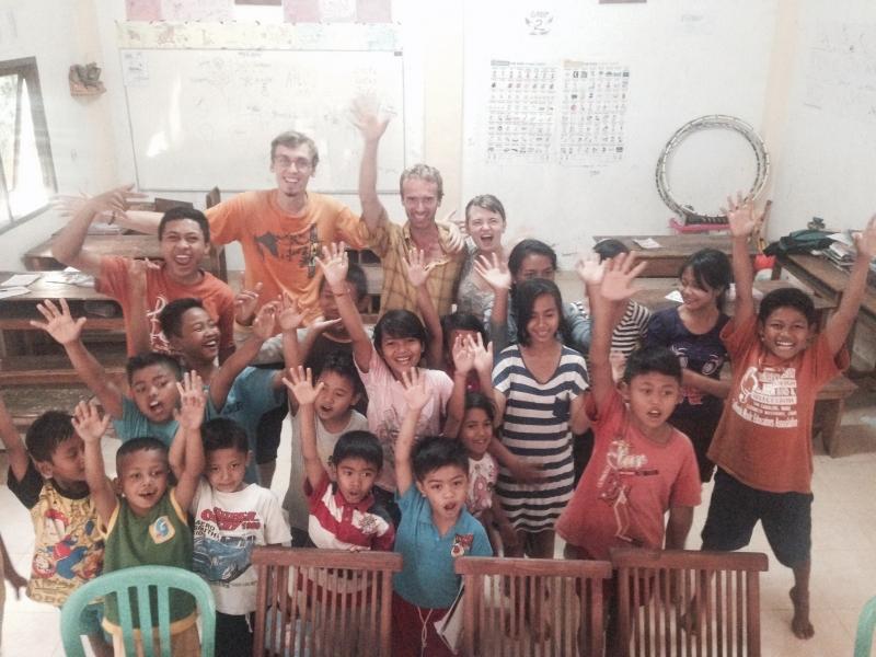 Navštívili jsme na Bali školu