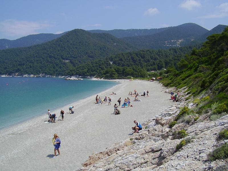Pláž z muzikálu Mamma Mia