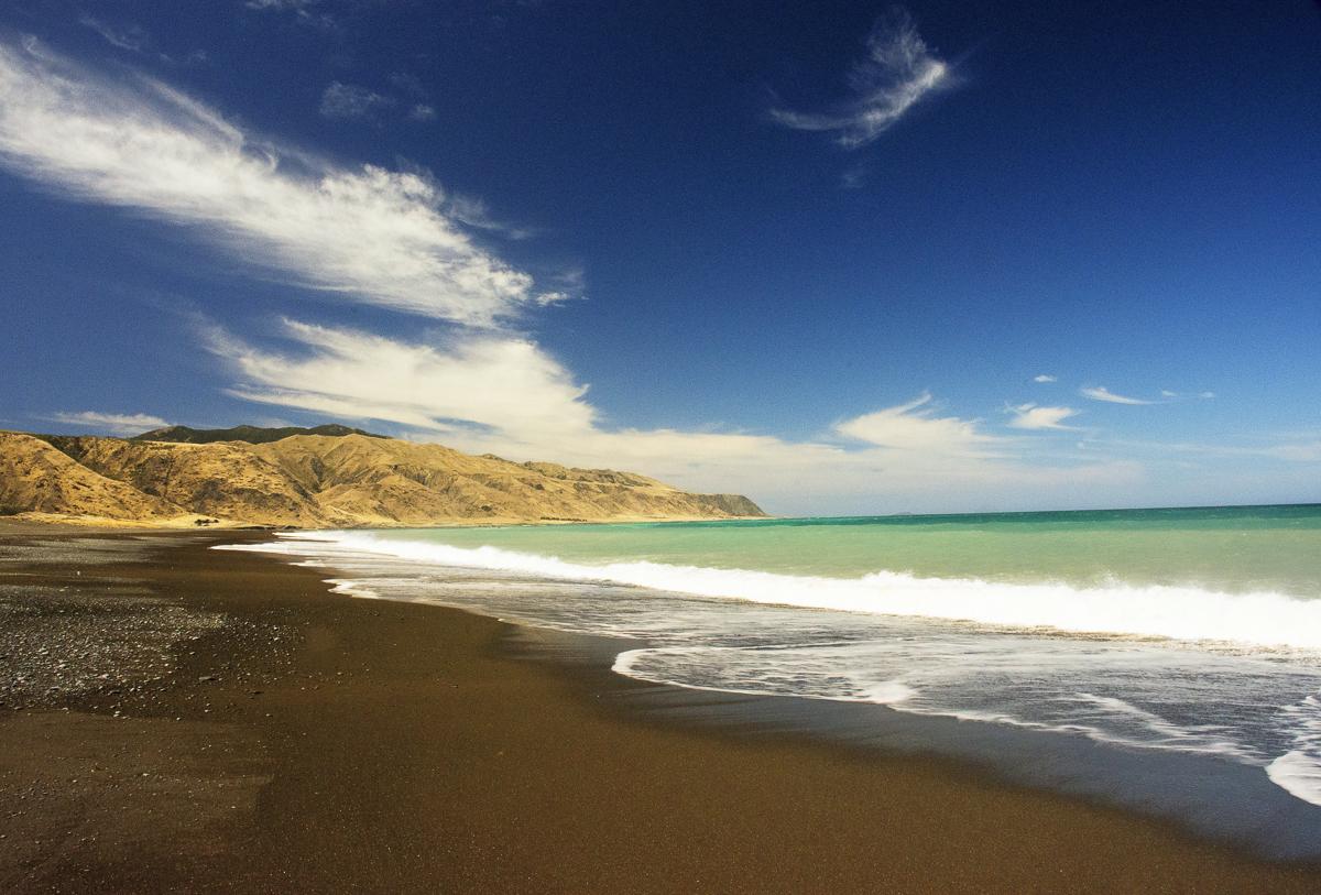 """""""Přelidněná"""" pláž"""