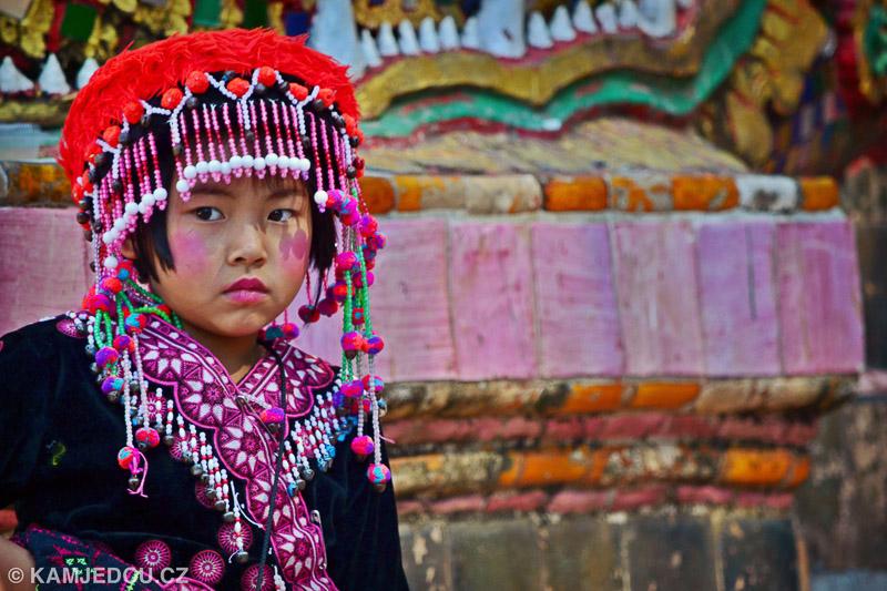 Hill Tribe –Doi Suthep, Thajsko