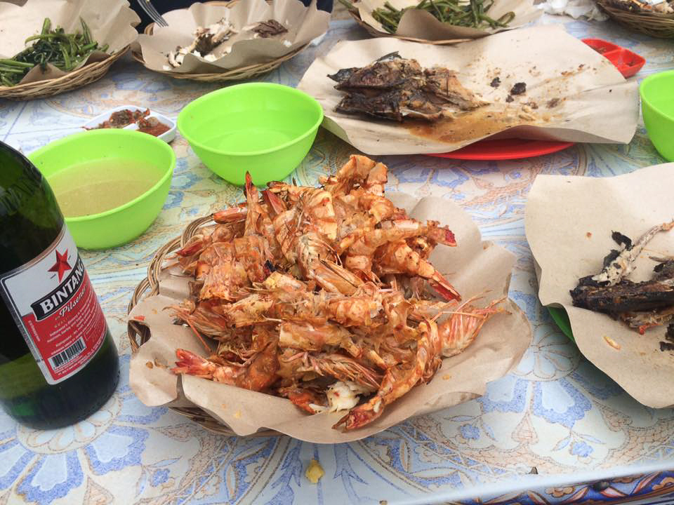 Po bitve – rybí trh Jimbaran