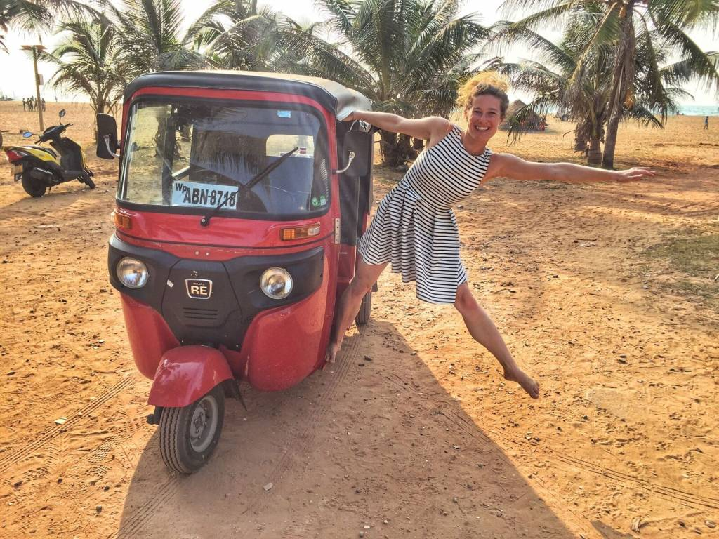 Lucka Radová –Srí Lanka v tuktuku