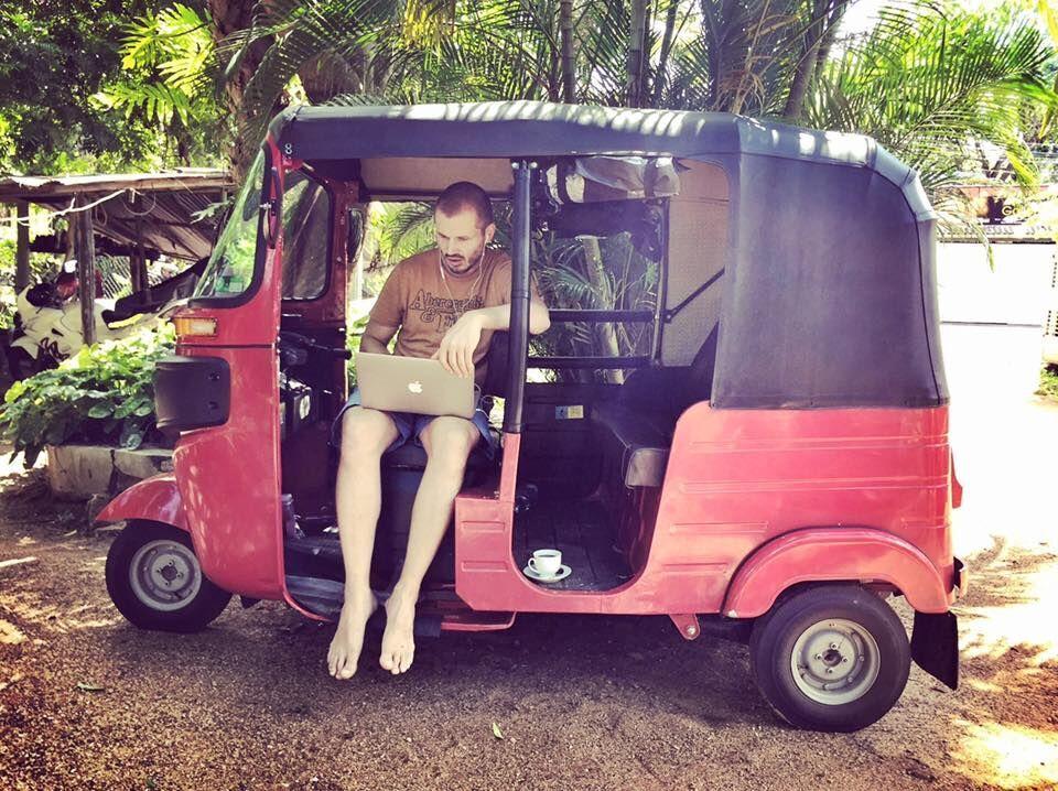 Srí Lanka v tuktuku