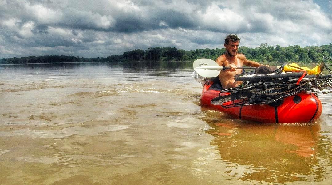 Matěj Balga: Na kajaku Amazonkou