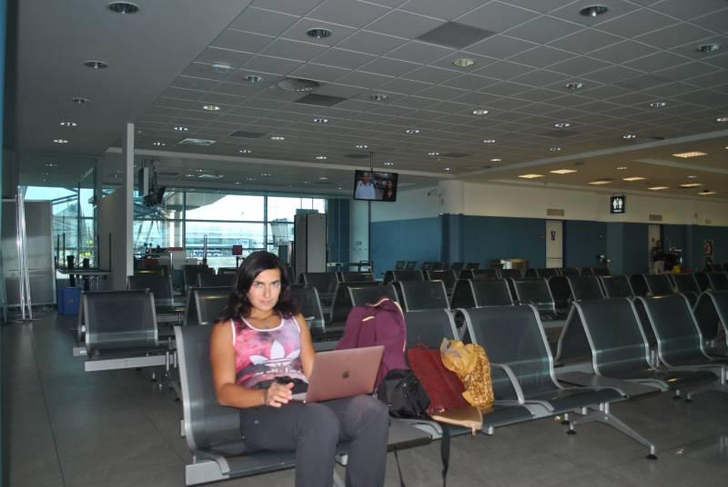 Pracuji na svém MacBooku klidně i na letišti