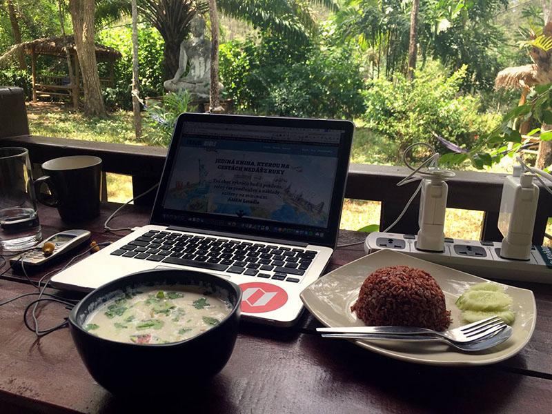 Coworking KoHub na Ko Lantě v Thajsku