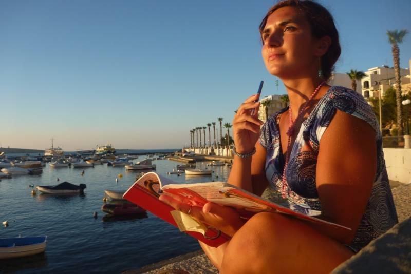 Začínám copywriterskou kariéru, tehdy ještě na Maltě