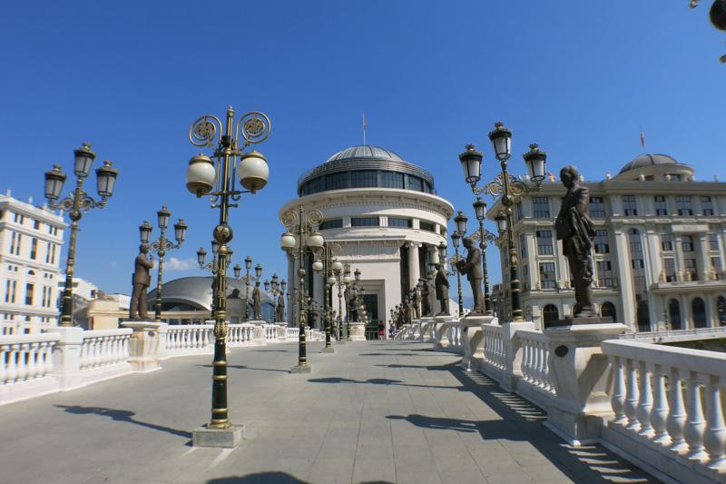 Art Bridge v Skopje