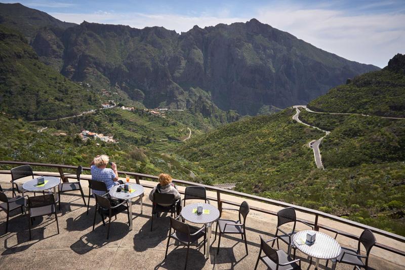 Jako v kině – kavárna Mirador de la Cruz de Hilda @Matúš Ficko