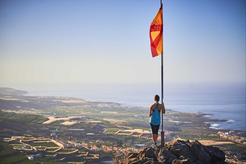 Vlajka nad Los Gigantes @Matúš Ficko