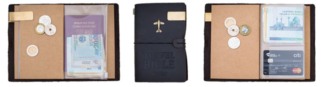 Limitovaná edice - Travel Bible notes