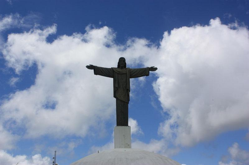 Socha Ježíše Krista vPuerto Plata