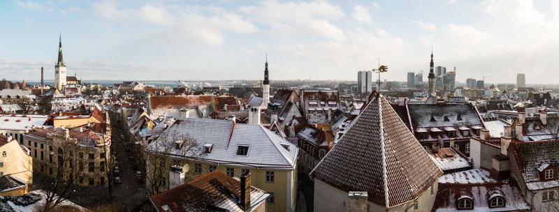 Tallinnské panoráma