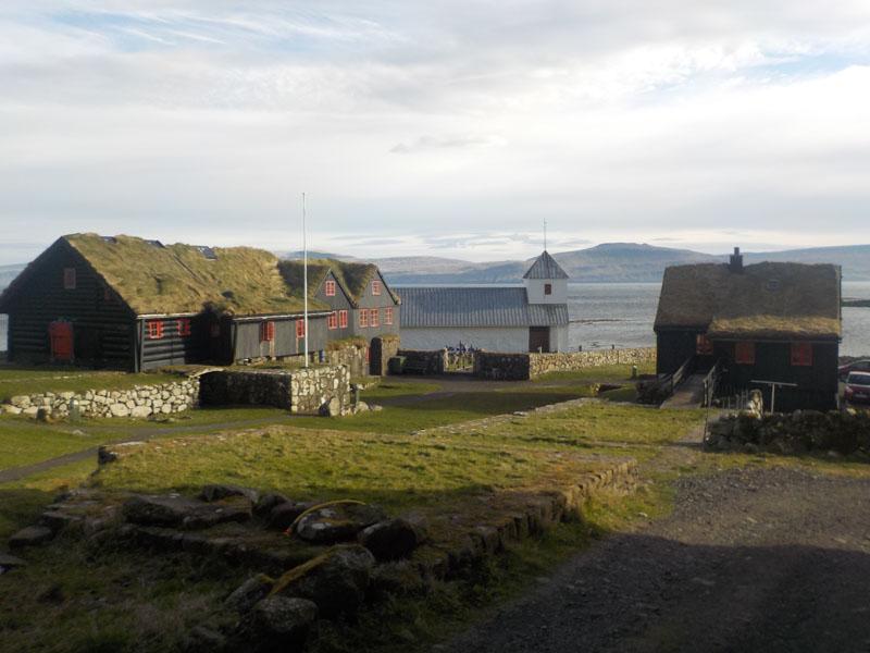 Historická vesnice Kirkjubøur