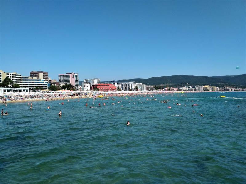 Slunečné pobřeží Bulharsko