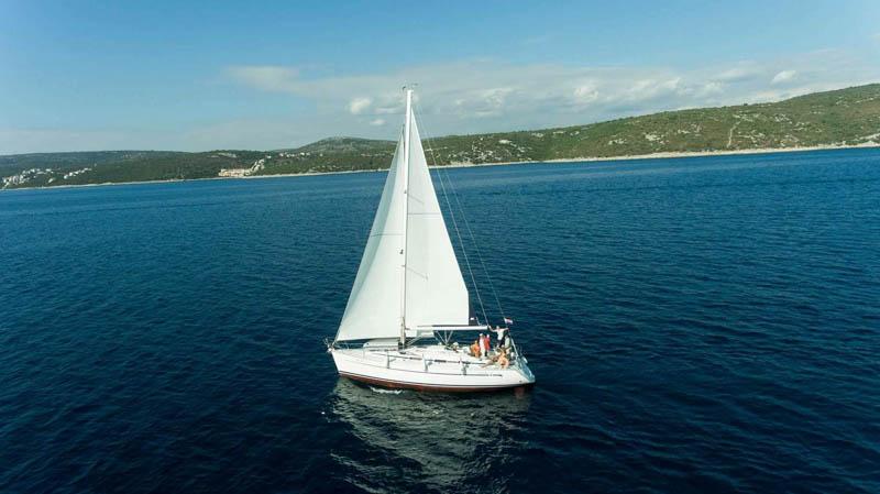 jachta chorvatsko