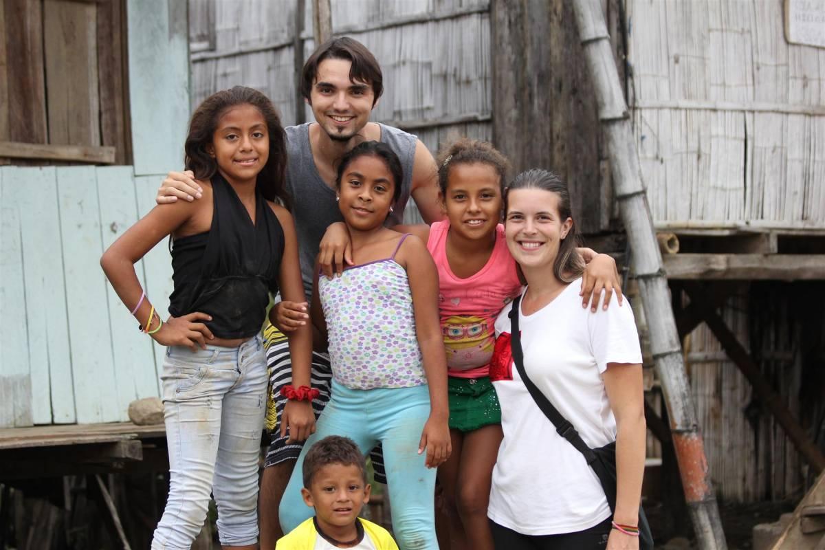 Roman a Klárka: Dobrovolníky v Ekvádoru
