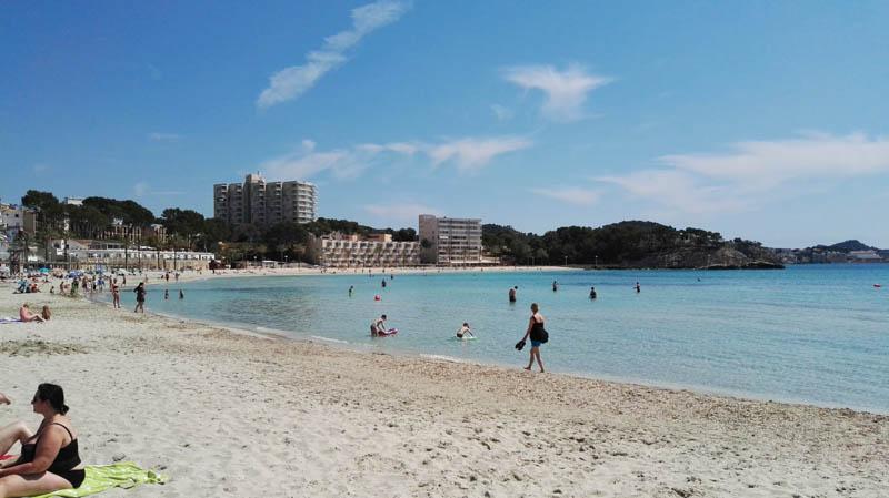 pláž mallorca