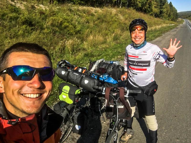 expedice na kole