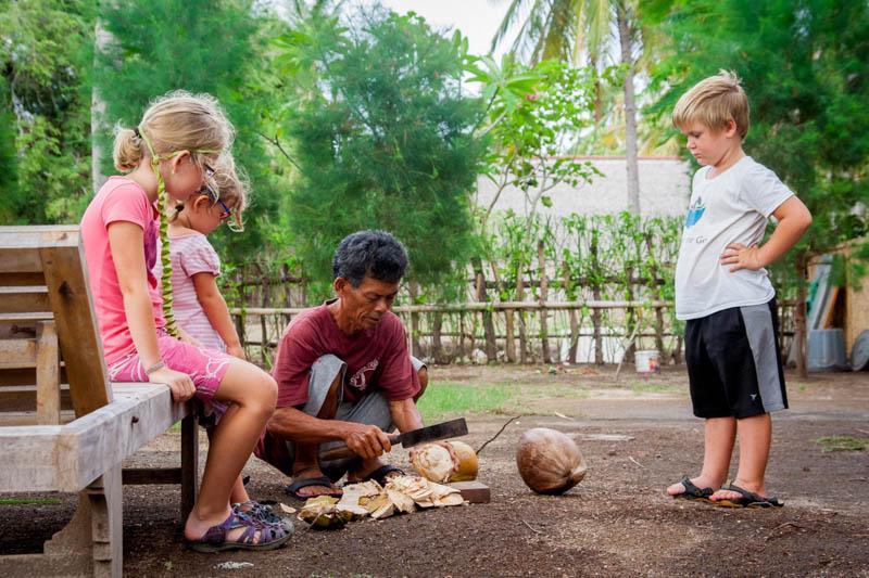 kokos Asie