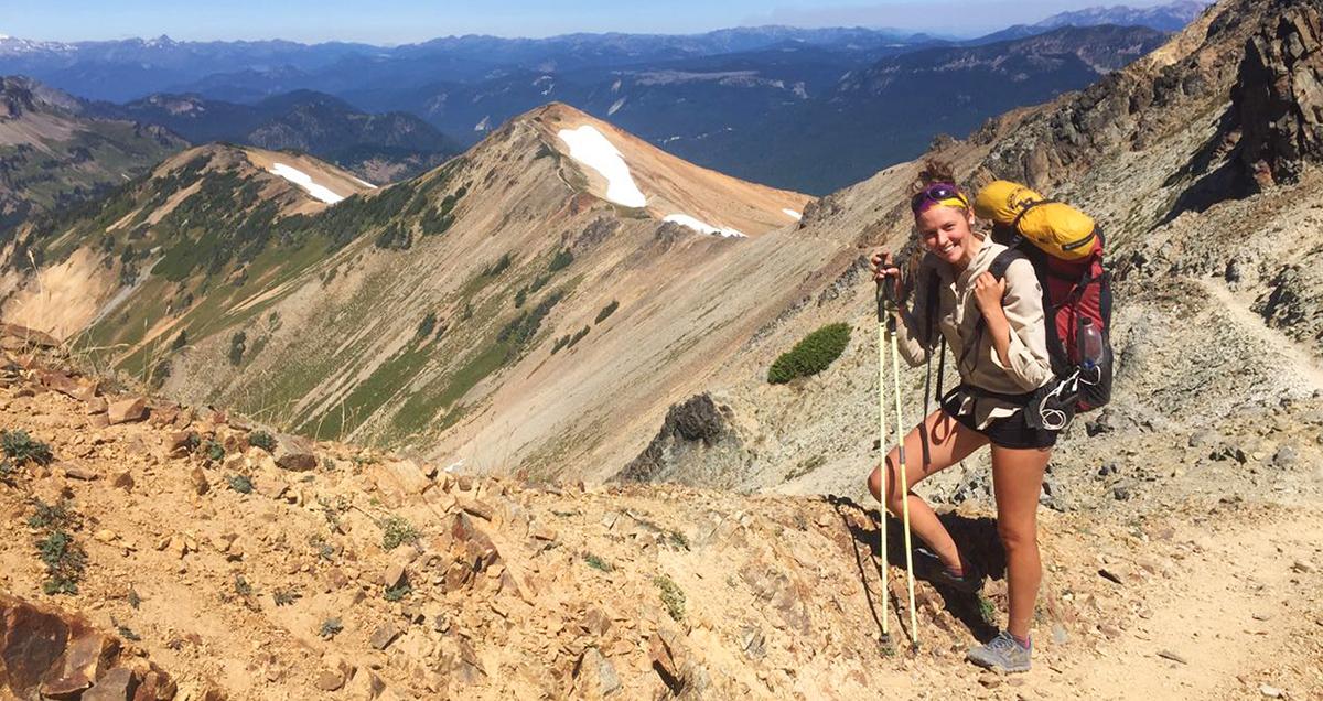 """Monika Benešová: """"Pacific Crest Trail je hlavně o hlavě, fyzička je až na druhém místě."""""""