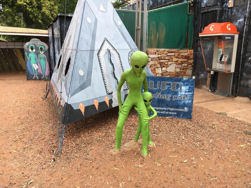 ufo stanice austrálie