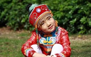 dítě mongolsko