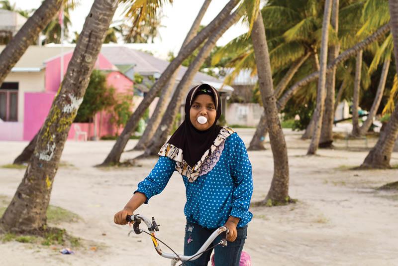 maledivská slečna