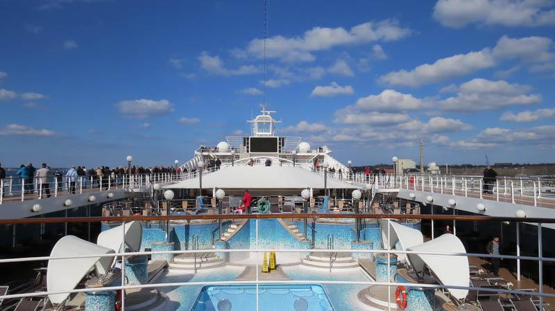 dovolená na zaoceánské lodi