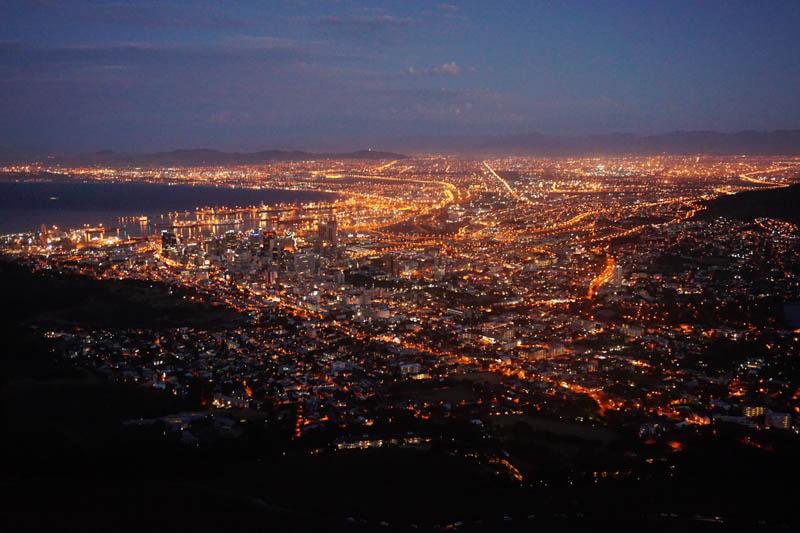 vyspělé africké město