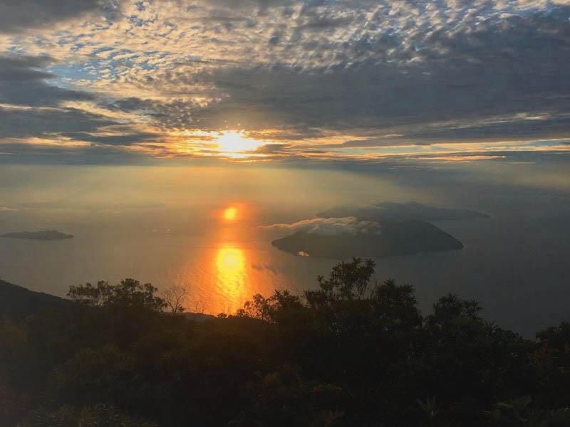 La Unión – výhled z vulkánu Conchagua