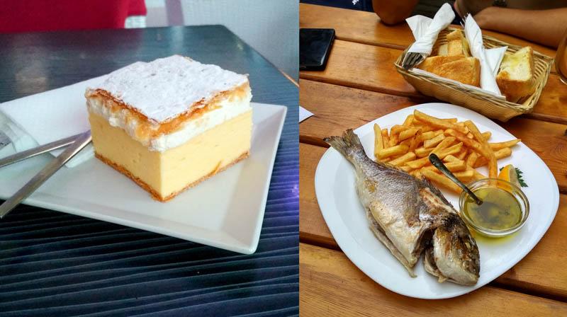 jídlo ve Slovinsku