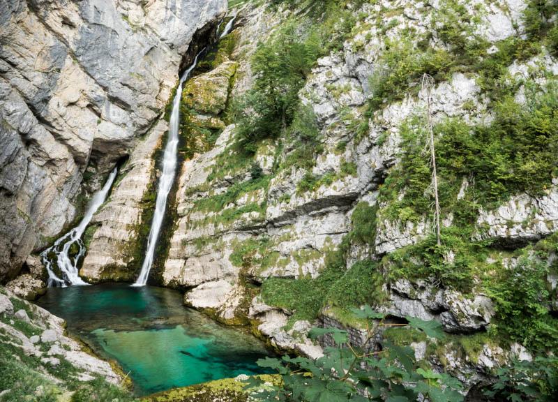 Vodopády Savica