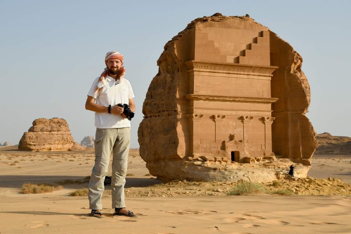 Lukáš Synek: 3 roky v Saúdské Arábii a cestování po Blízkém východě