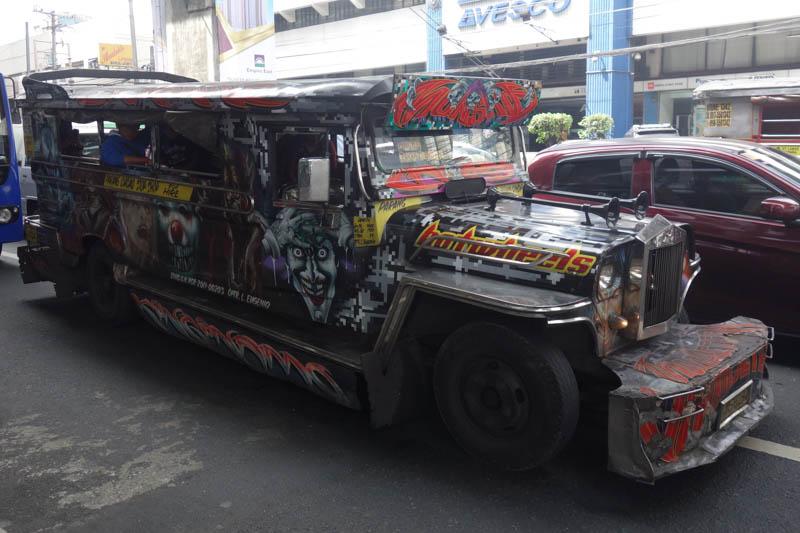 Jeepney v Manile