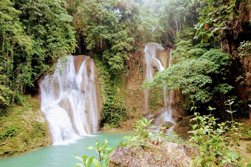 Pahangog Twin Falls (Bohol)