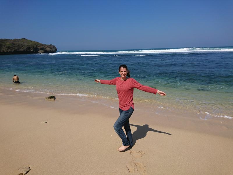 jáva průvodce pláže