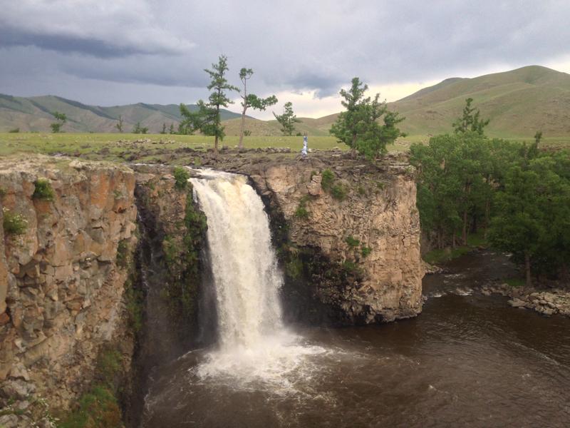 vodopad mongolsko